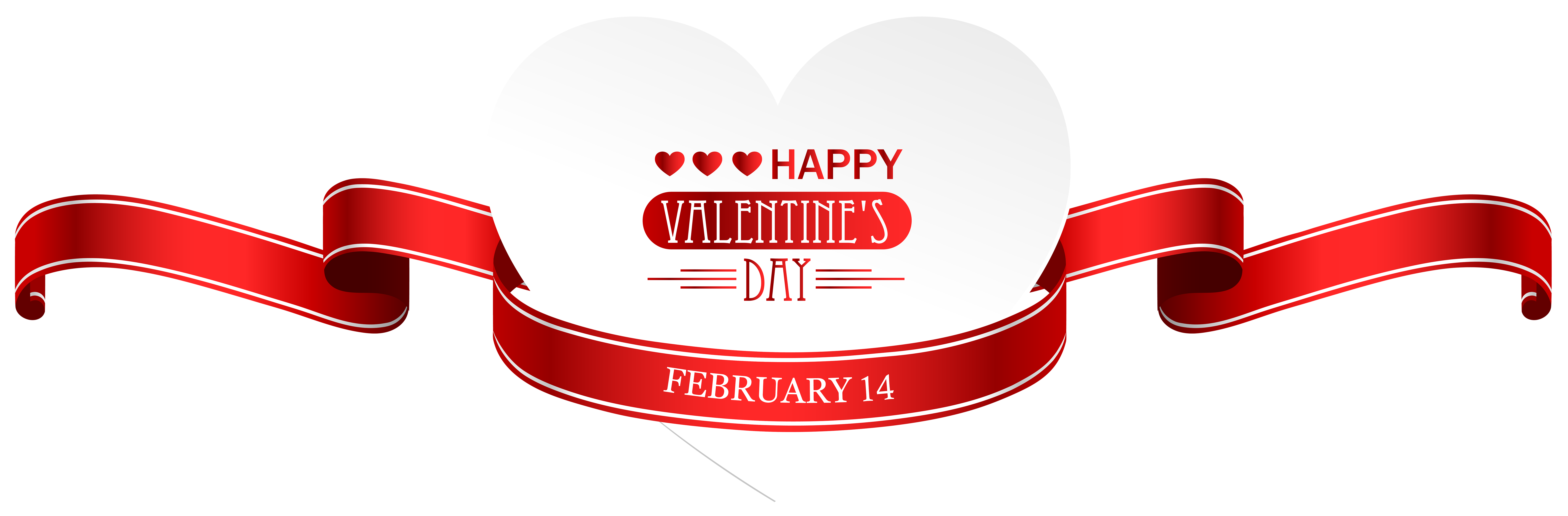 February clipart high resolution.