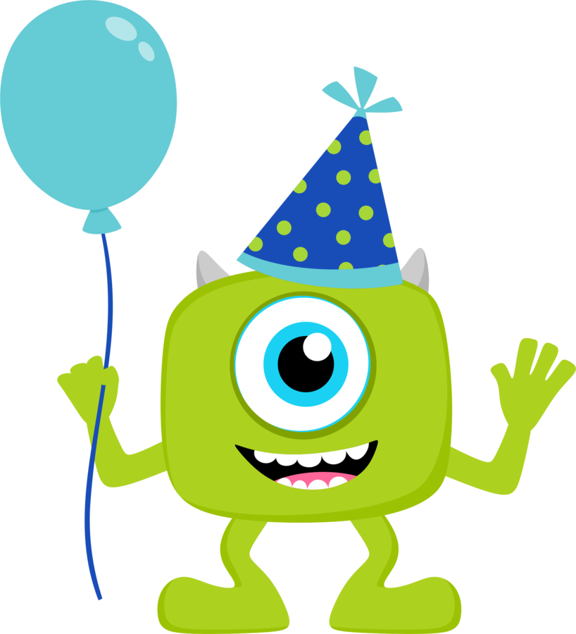 balloon clipart monsters inc