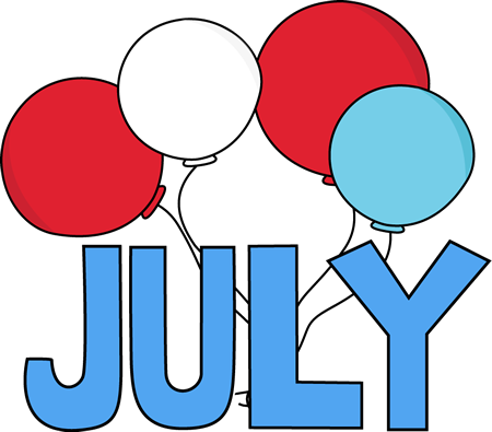 July clipart welcome.
