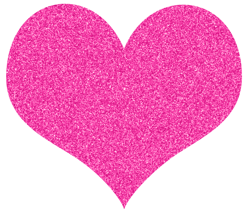 free heart clipart pink