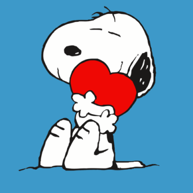 February clipart snoopy.