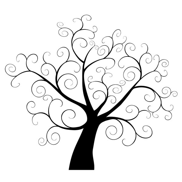 free tree clipart whimsical