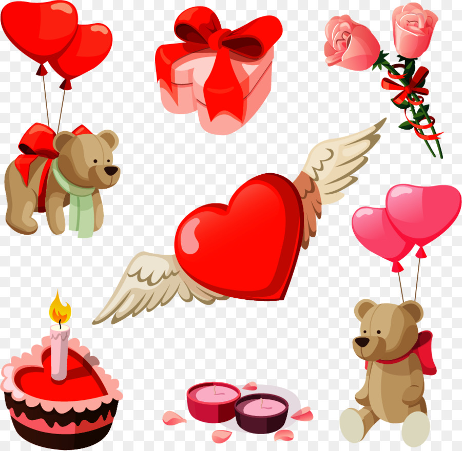 February clipart valentine party.
