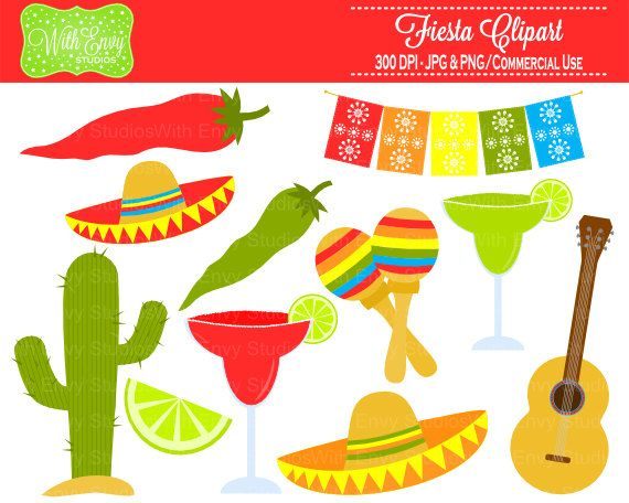 fiesta clipart party