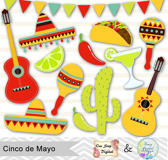 Fiesta clip art musical instruments.