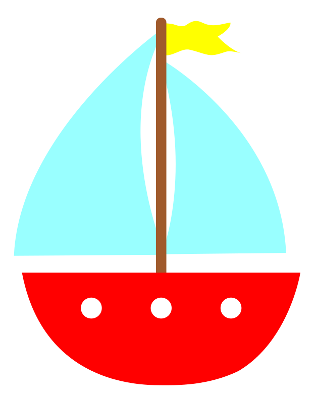 sailboat clipart baby