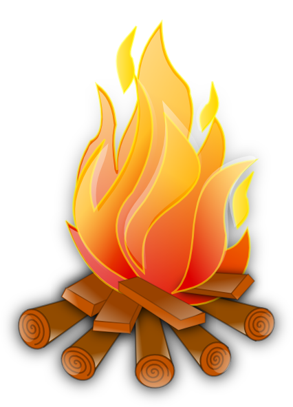 campfire clipart large