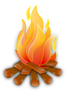 campfire clipart animated