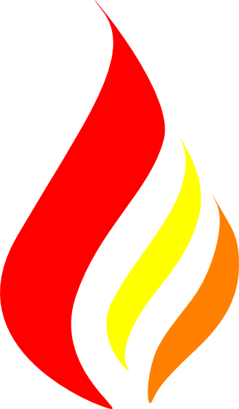flame clipart candle