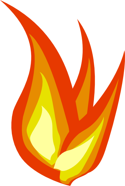 flame clipart animated