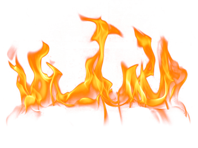 Fire clipart word.