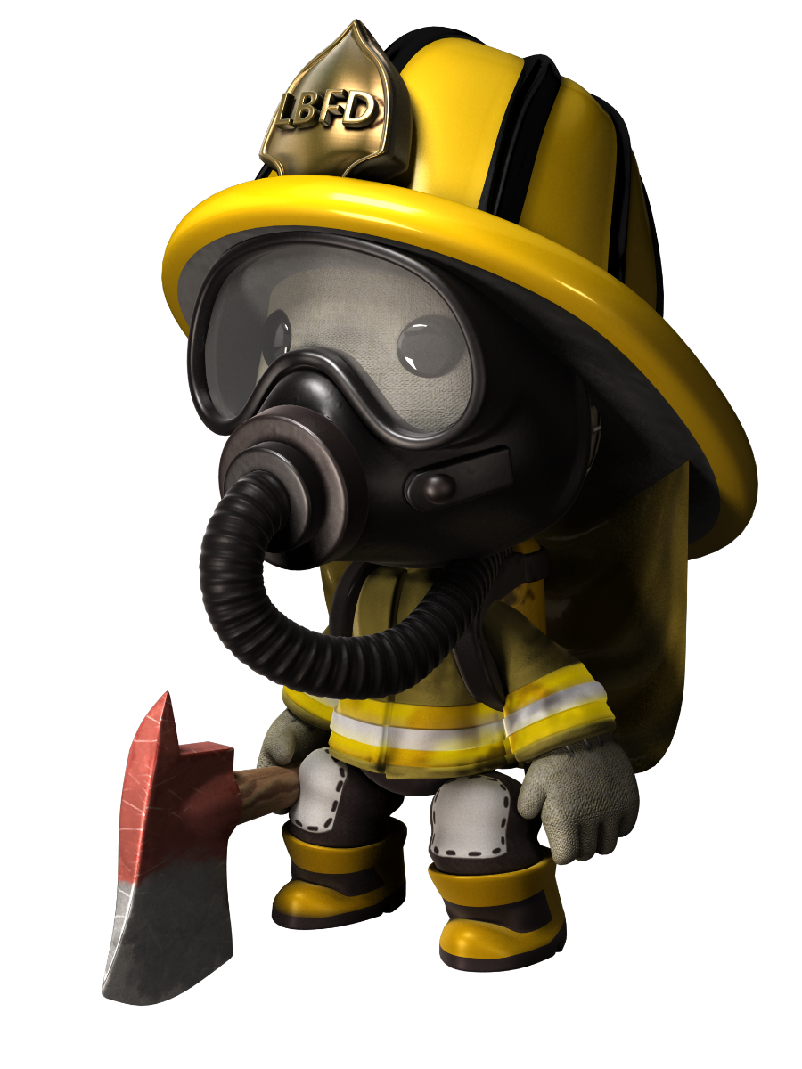 Firefighter clipart background.