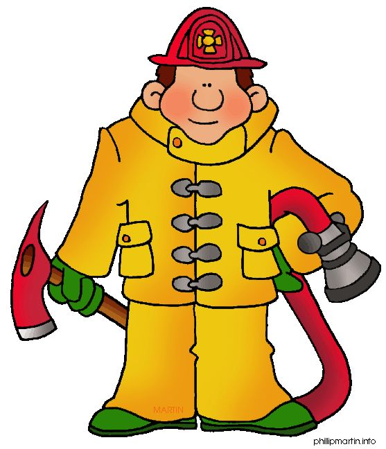 Firefighter clipart month.