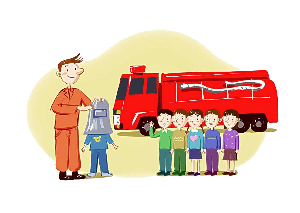 Firefighter clipart child.