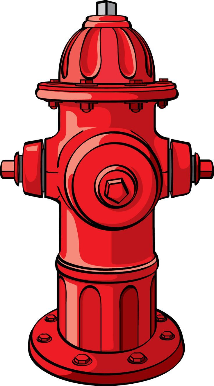 Firefighter clipart fire hydrant.