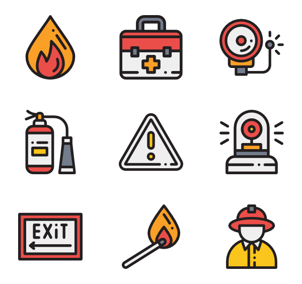 Firefighter clipart fire station sign.