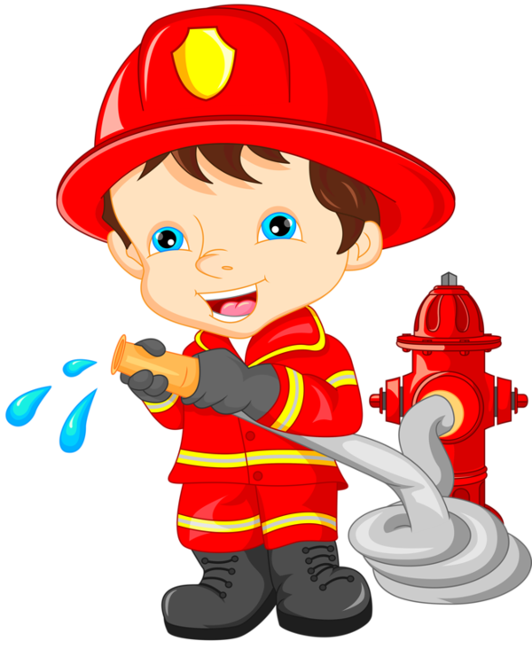 Firefighter clipart police.