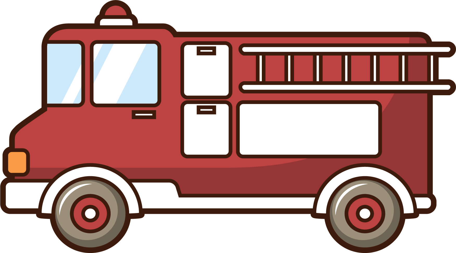 Firefighter clipart vehicle.