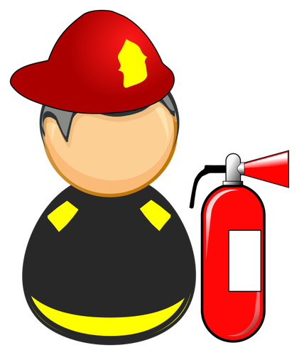 Firefighter clipart water.
