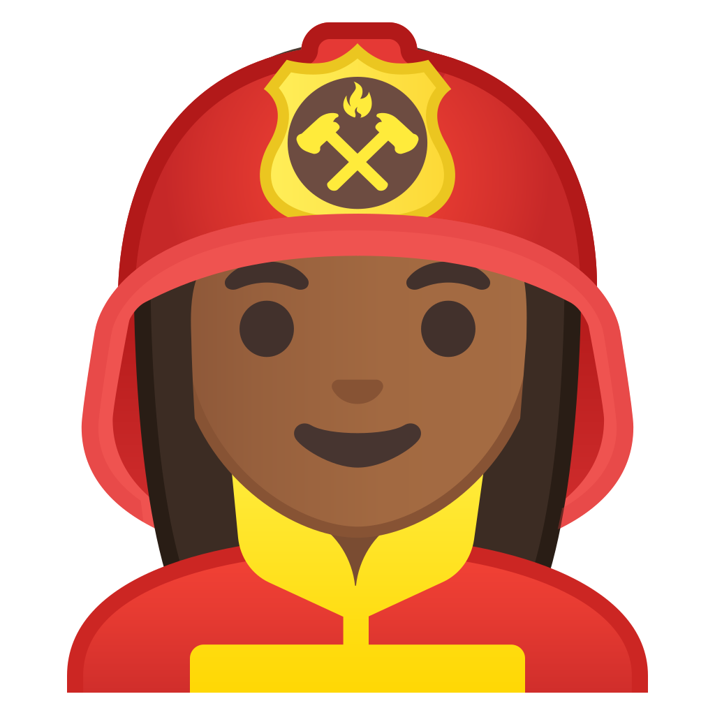Firefighter clipart woman firefighter.