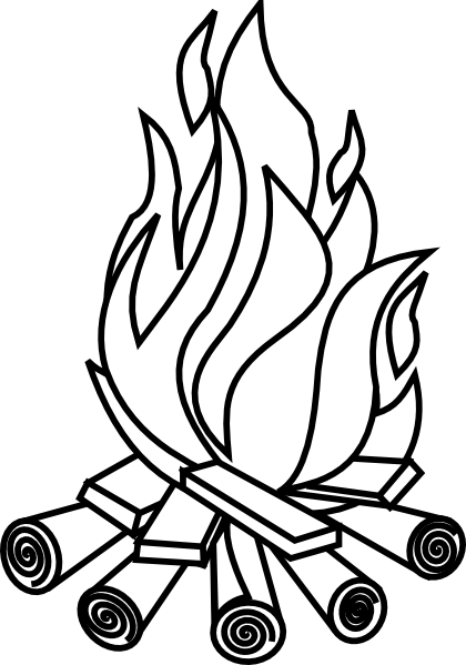 apoy clipart firewood