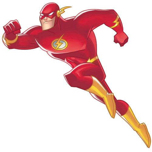 the flash clipart justice league