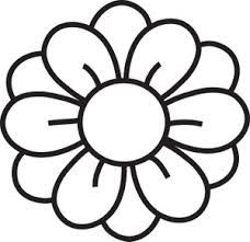 free clipart flowers outline