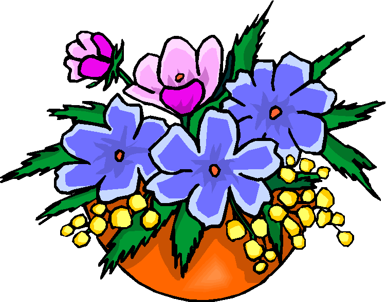 flower bouquet clipart arrangement