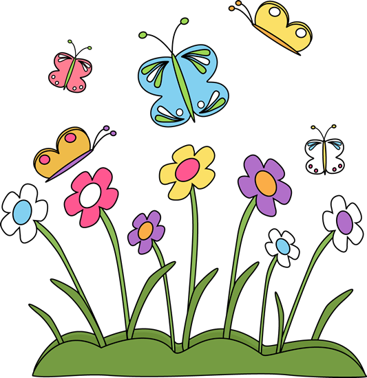 spring flower clipart cute