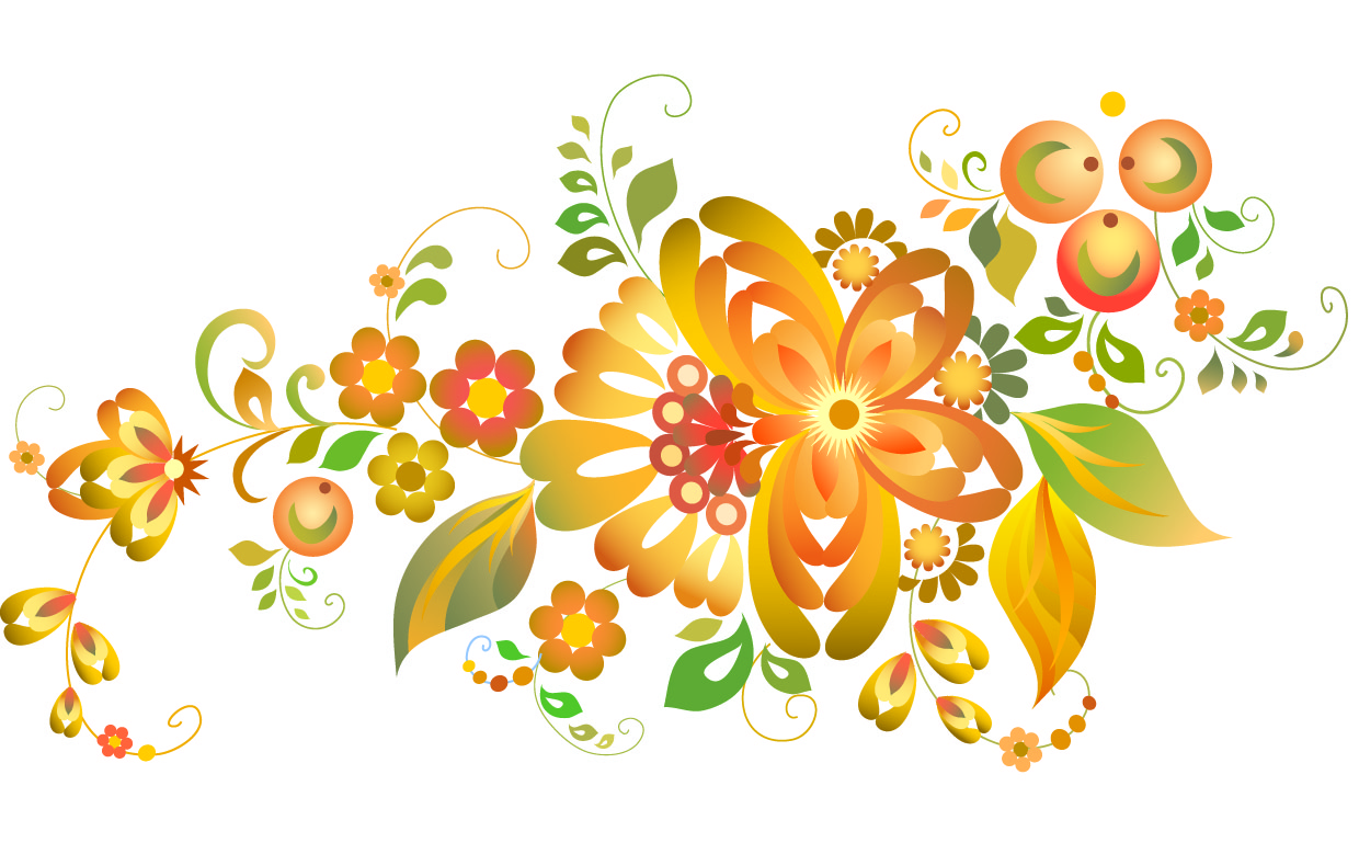 free clipart flowers vector