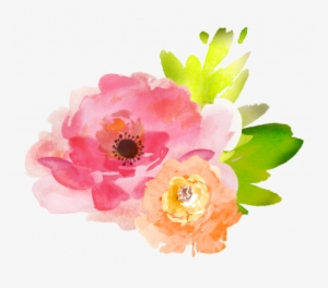 Flowers clipart watercolor floral.