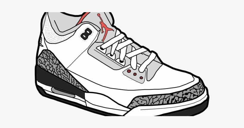 clipart shoes jordan