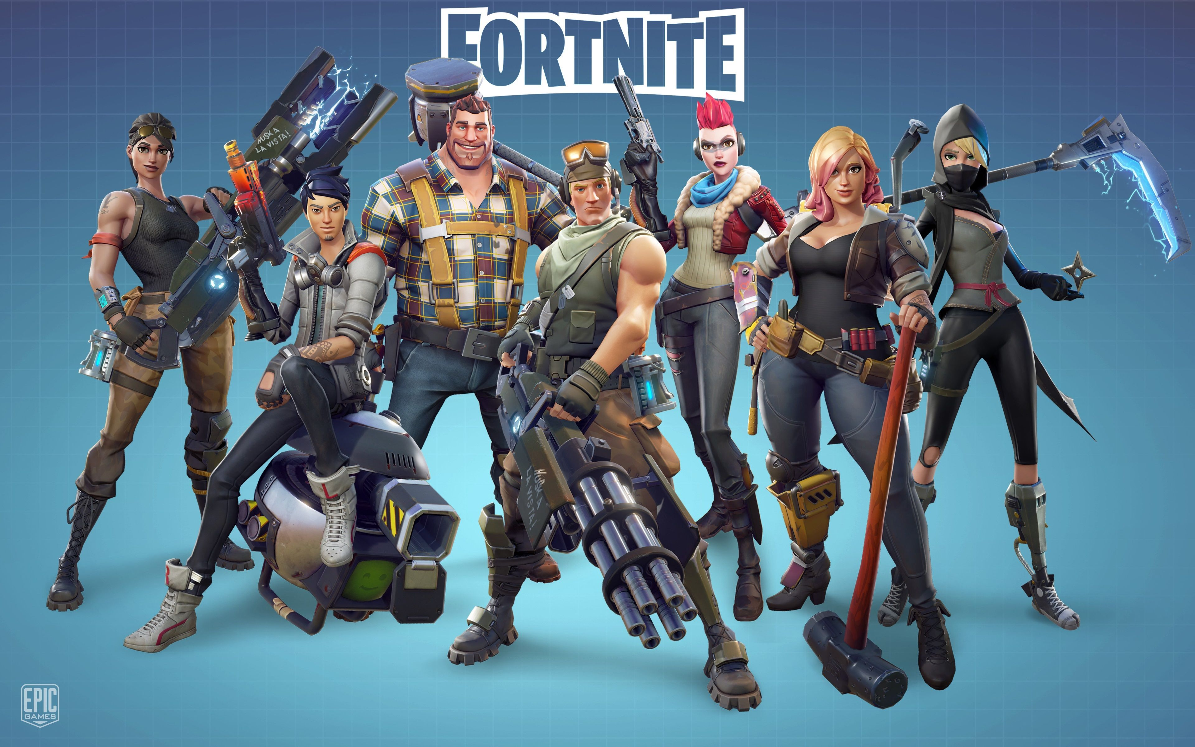 Fortnite clipart wallpaper.