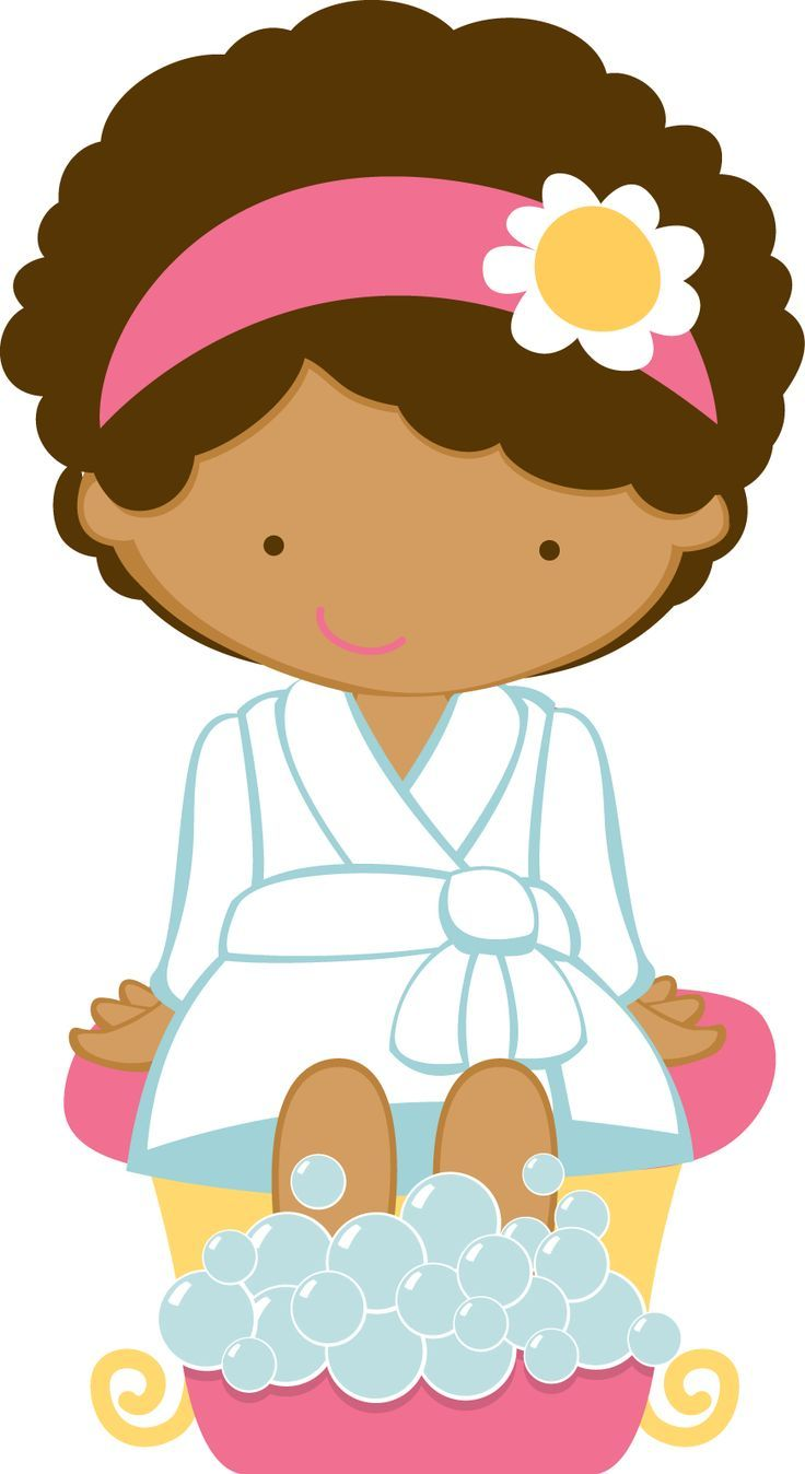 Spa clipart kids.