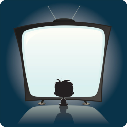 Front tv clipart.
