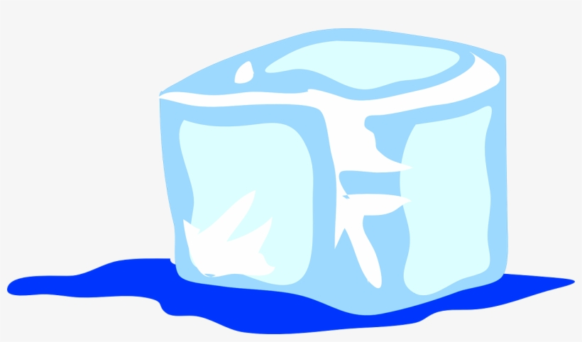 ice cube clipart water