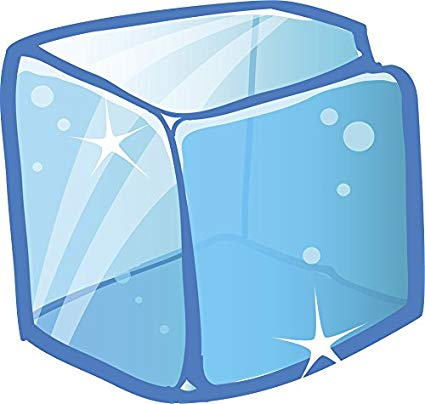 ice cube clipart simple