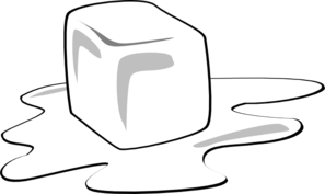 ice cube clipart white
