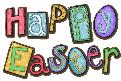 happy easter clipart church