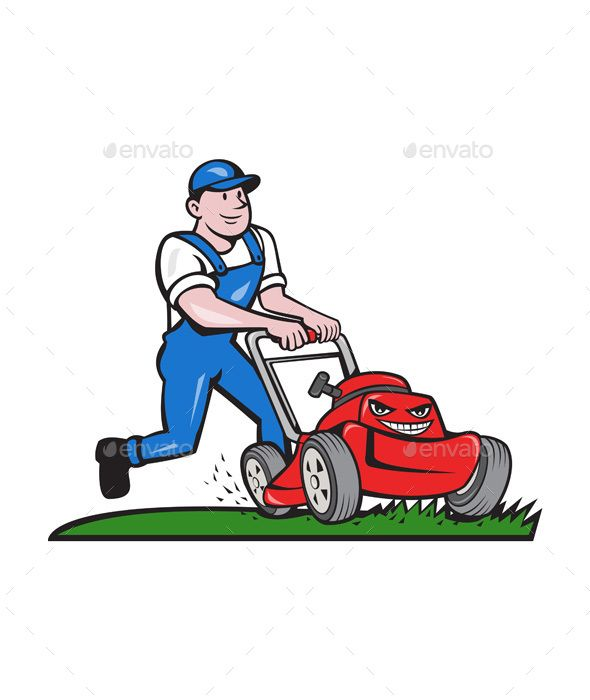 landscaping clipart lawn mower