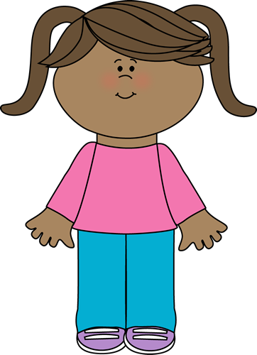girl clipart person