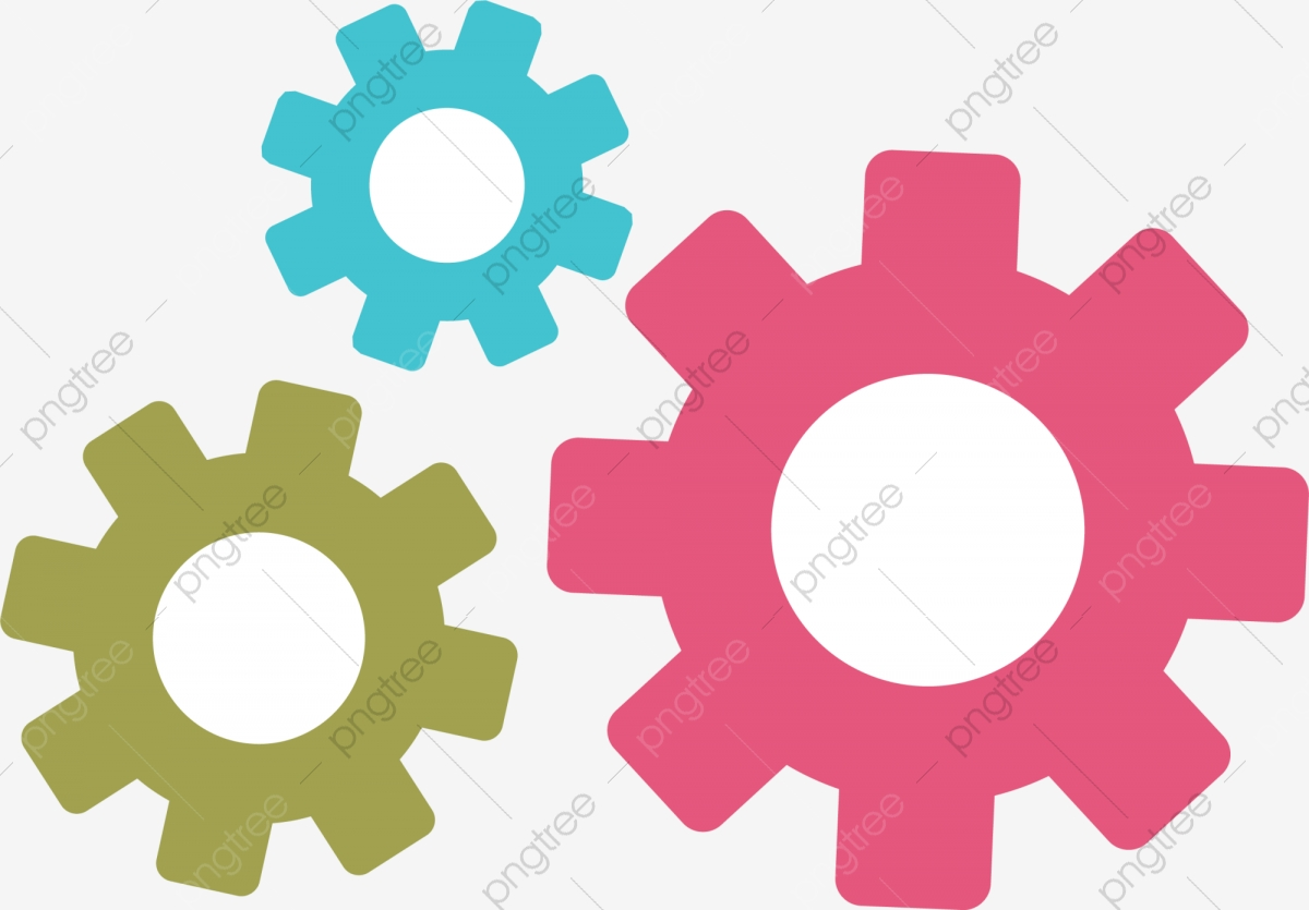 gears clipart cartoon