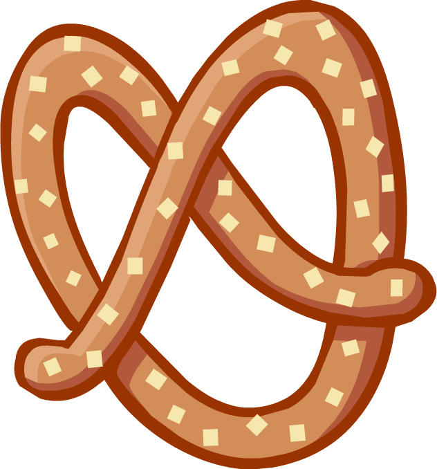 german clipart chocolate covered pretzel