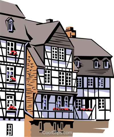 german clipart house