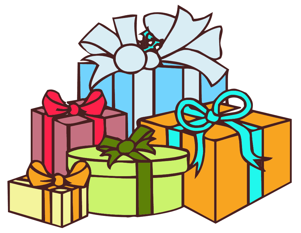 Gift clipart many.