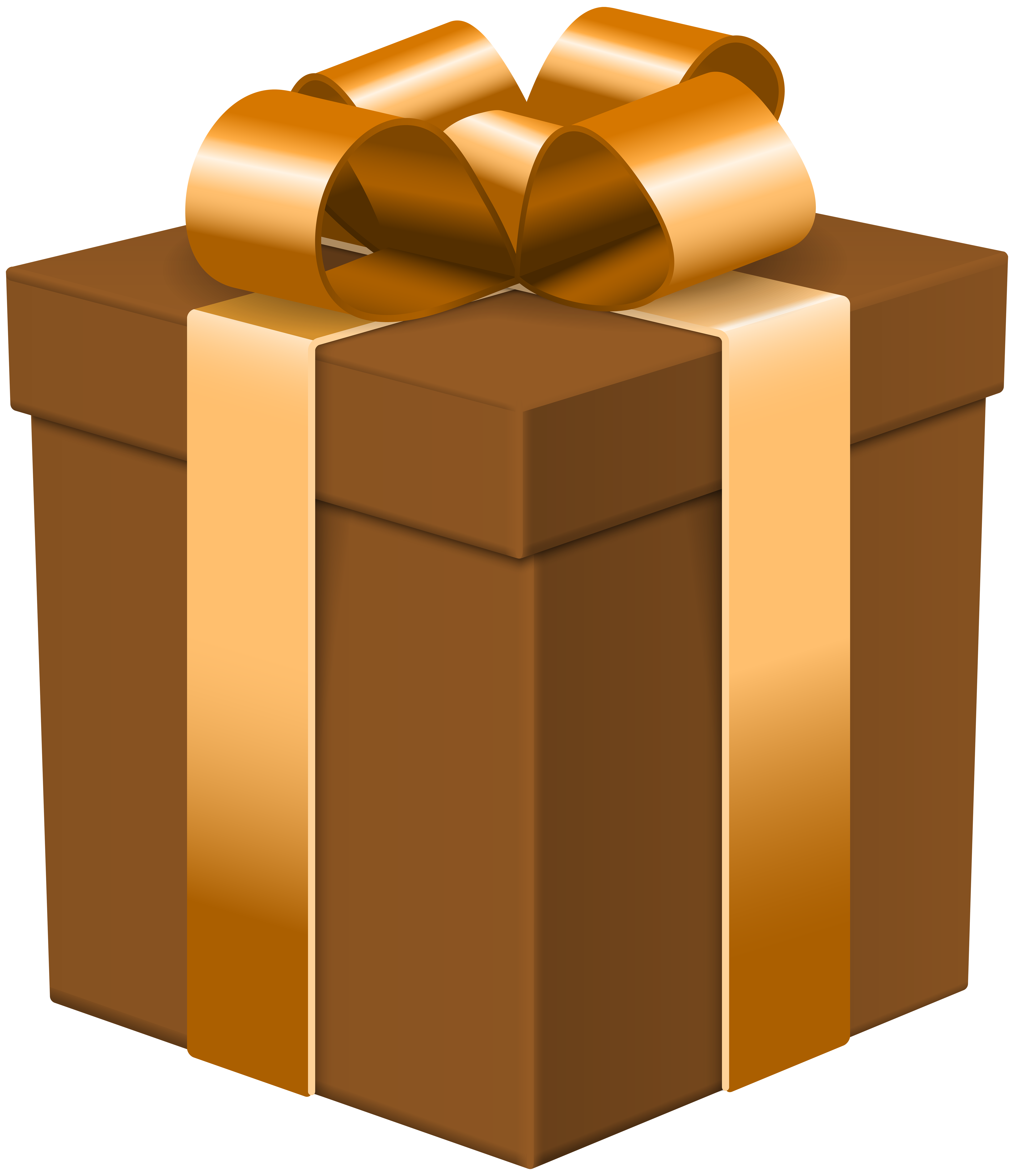 Gift clipart closed box.