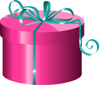 gift clipart cylinder
