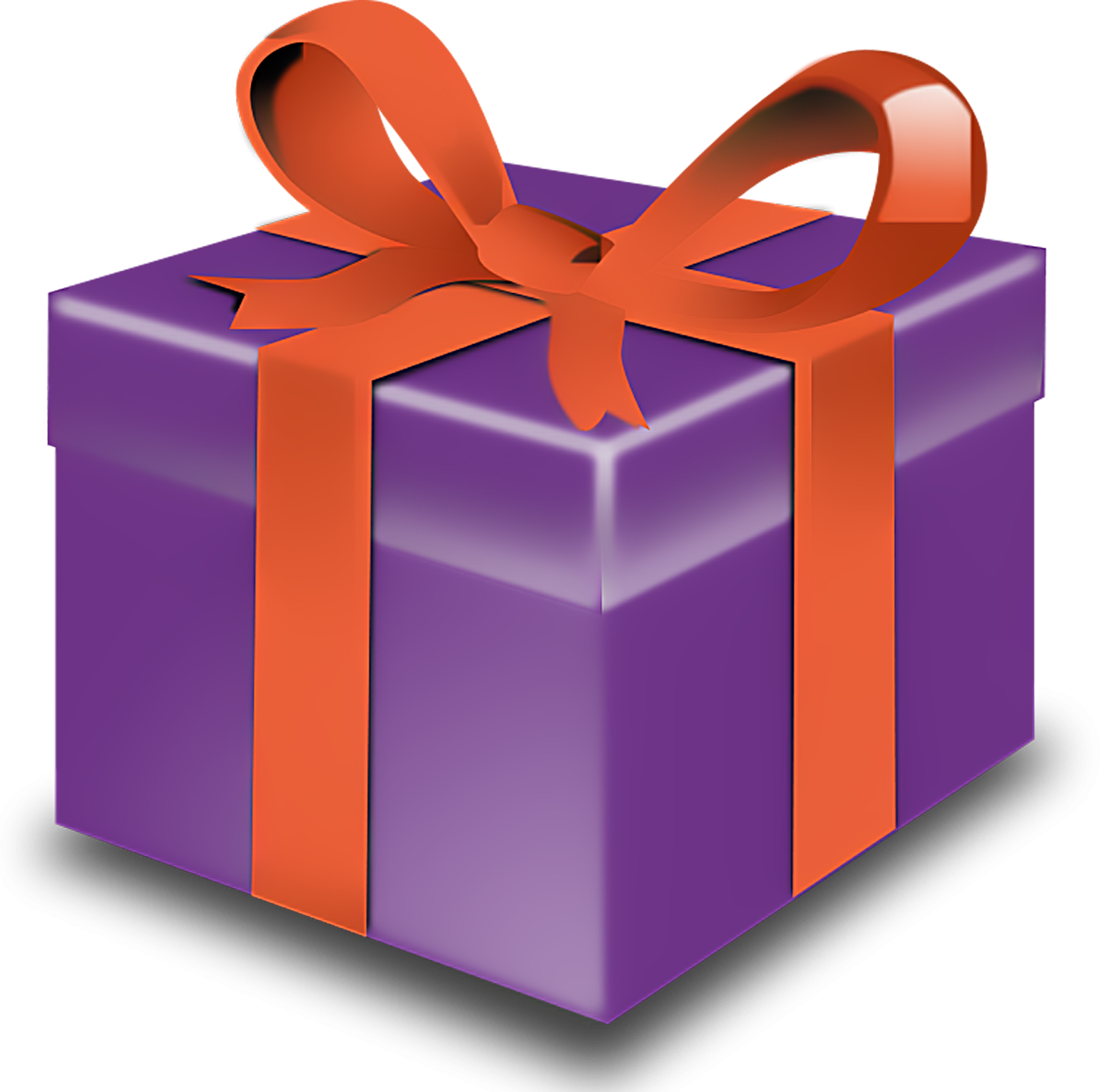 present clipart clear background
