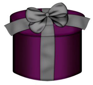 Gift clipart hat box.