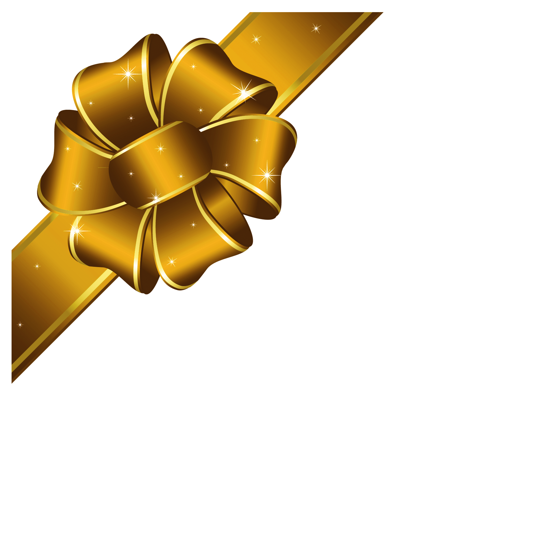 holly clipart gold